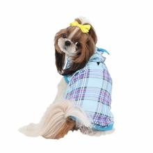 Midtown Hooded Dog T-Shirt by Puppia - Sky Blue