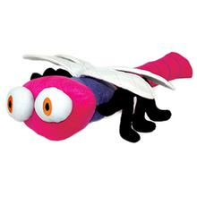 Mighty Bug Dog Toy - Ditzy the Dragonfly - Pink