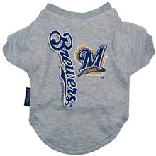 Milwaukee Brewers Dog T-Shirt