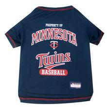 Minnesota Twins Dog T-Shirt - Navy Blue