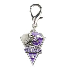 Minnesota Vikings Pennant Dog Collar Charm