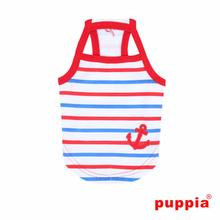 Moby Dog Tank by Puppia - Red