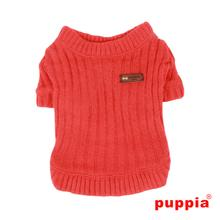 Modish Dog Shirt by Puppia - Orange Red