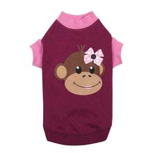Monkey Business Raglan Dog T-Shirt - Tiff