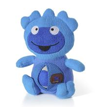 Monster Belly Rollers Halloween Dog Toy - Blue
