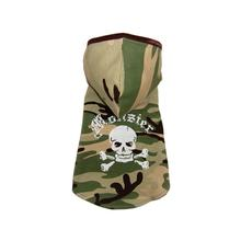Monster Camo Hooded Tank by Hip Doggie - Green