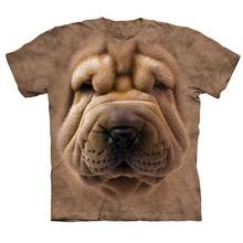 The Mountain Human T-Shirt - Shar Pei Face