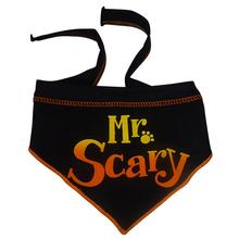 Mr. Scary Dog Bandana Scarf - Black
