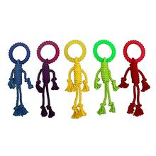 MultiPet Nuts for Knots Rope Man Dog Toy