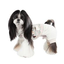 Mushy Dog Jumpsuit by Puppia - Ivory