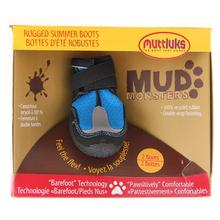 Muttluks Mud Monster Dog Boots - Blue with Reflective Trim