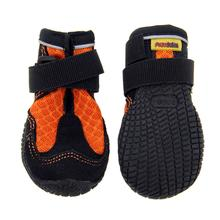 Muttluks Mud Monster Dog Boots - Orange with Black Trim - Set of Two