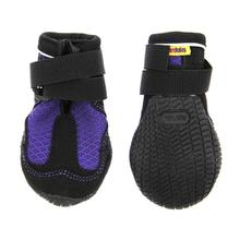 Muttluks Mud Monster Dog Boots - Purple with Black Trim