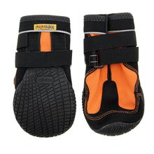 Muttluks Snow Mushers Dog Boots - Orange with Black Trim