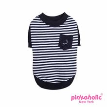 Naval Dog Shirt by Pinkaholic - Navy