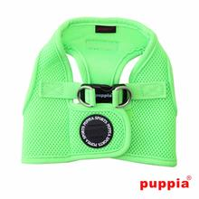 Neon Mesh Soft Dog Harness Vest by Puppia - Green