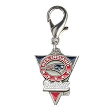 New England Patriots Pennant Dog Collar Charm