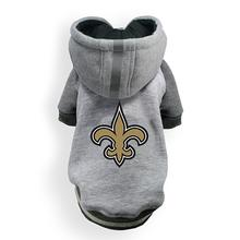 New Orleans Saints NFL Dog Hoodie - Gray