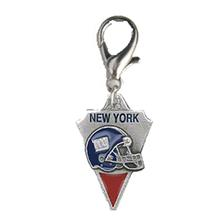 New York Giants Pennant Dog Collar Charm