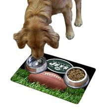 New York Jets Pet Bowl Mat