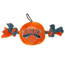 New York Knicks Basketball Dog Toy