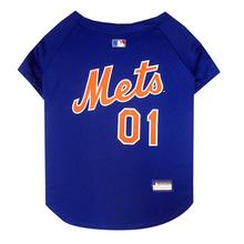 New York Mets Officially Licensed Dog Jersey - Blue