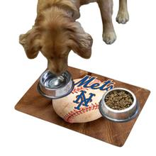New York Mets Pet Bowl Mat