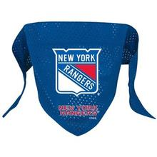 New York Rangers Mesh Dog Bandana