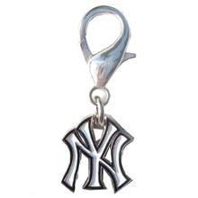 New York Yankees Logo Dog Collar Charm