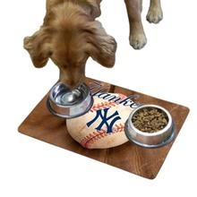 New York Yankees Pet Bowl Mat