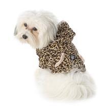 Niko's Leopard Print Dog Hoodie
