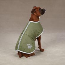 Nor'easter Dog Blanket Coat - Chive