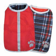 Nor'easter Dog Blanket Coat - Red