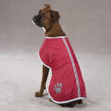 Nor'easter Dog Blanket Coat - Red