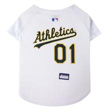 Oakland Athletics Officially Licensed Dog Jersey - White