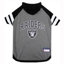 Oakland Raiders Hooded Dog T-Shirt