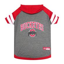 Ohio State Hooded Dog Shirt