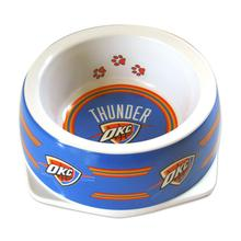 Oklahoma City Thunder Plastic Dog Bowl