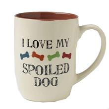 One Spoiled Dog Lives Here Mug