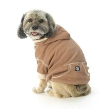 On-the-Go Heathered Dog Hoodie - Spice Heather