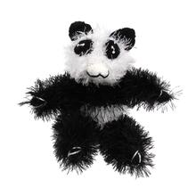 OoMaLoo Handmade Panda Dog Toy