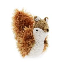 OoMaLoo Handmade Squirrel Dog Toy