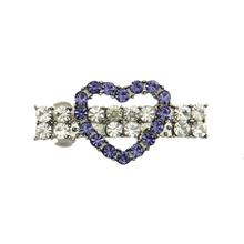Open Heart Barrette by FouFou Dog - Lilac