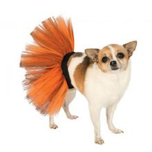 Orange and Black Dog Tutu