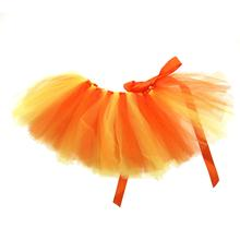 Orange/Yellow Tulle Dog Tutu by Pawpatu