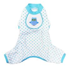 Owl Dog Pajamas - Blue