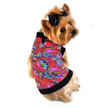 Paisley Dog Tank by Doggie Design - Multi-colored