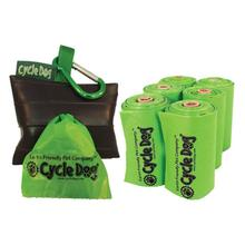 Park Pouch Pick-up Bag Combo by Cycle Dog - Black