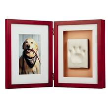 Pawprints Framed Desktop Kit - Mahogany