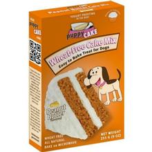 Peanut Butter Puppy Cake Mix Dog Treat
